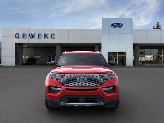 2020 Ford Explorer Platinum In Yuba City Ca Sacramento Ford